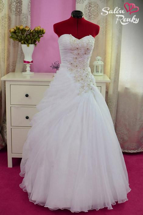 Najkrajšie svadobné šaty 2015