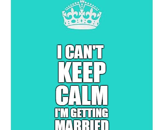 Stres pred svadbou